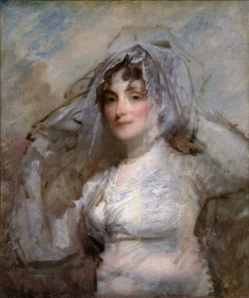 Mrs. Perez Morton, about 1802