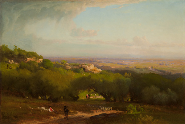 The Alban Hills, 1873