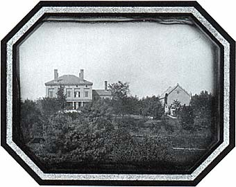 Salisbury House, Worcester, Massachusetts, about 1857