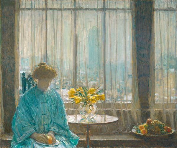 The Breakfast Room, Winter Morning, 1911