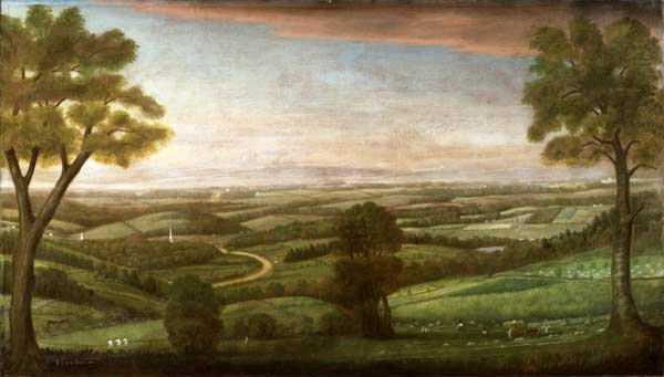 Looking East from Denny Hill, 1800
