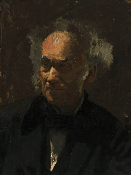 Study of the Head of Samuel David Gross, 1875