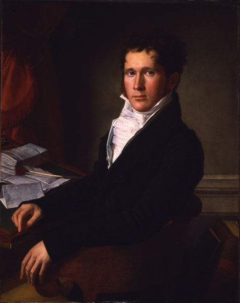 Sampson Vryling Stoddard Wilder, about 1808-12