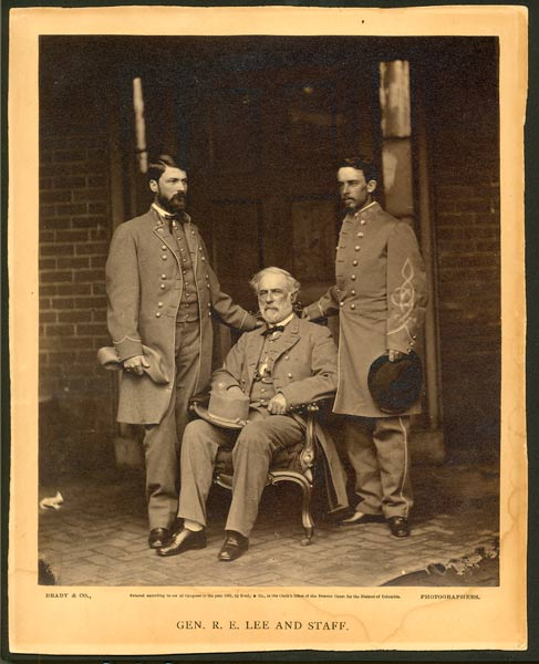 General Robert E. Lee and Staff, 1865
