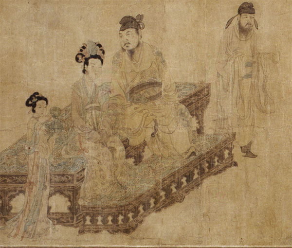 Ming Huang and Yang Gueifei Listening to Music