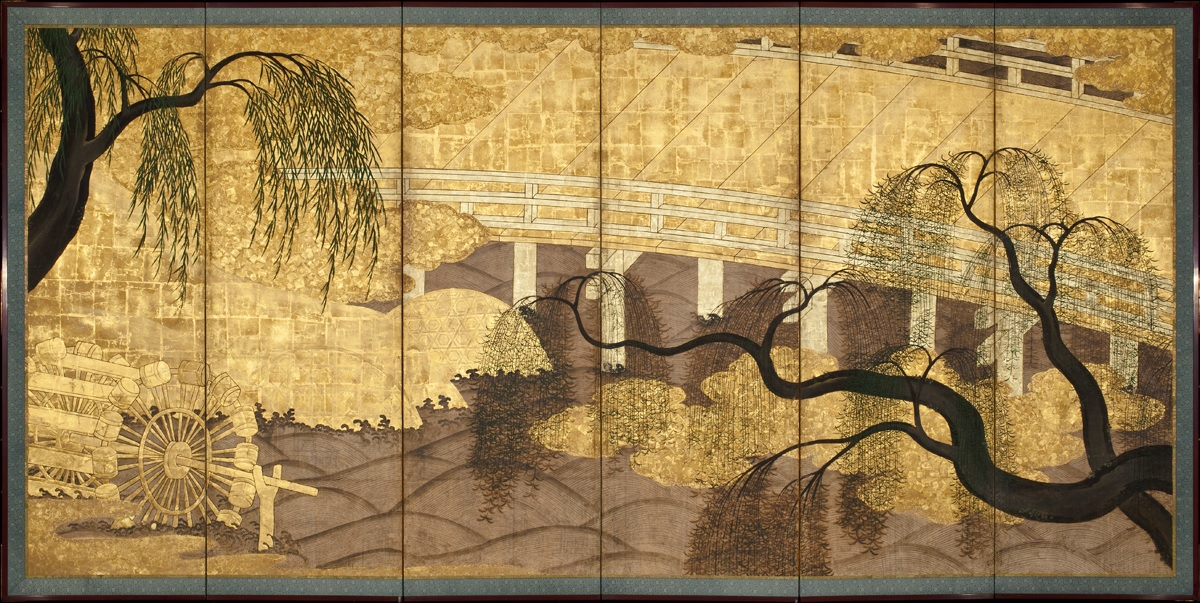 ANONYMOUS TOWN PAINTER, Japanese, active early 17th century