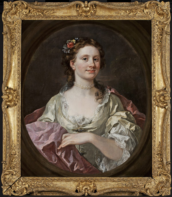 WILLIAM HOGARTH, Mrs. William James
