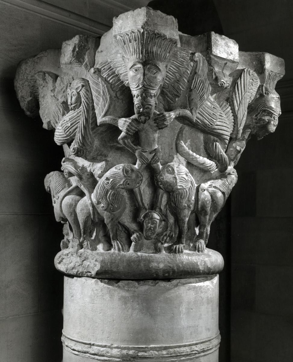 French (Bourges) <I>Capital</I>, early 12th century
