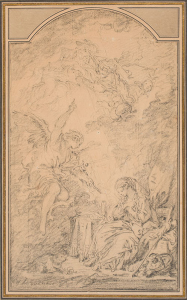 FRANÇOIS BOUCHER, The Annunciation