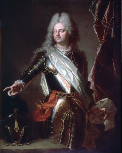 HYACINTHE RIGAUD, Portrait of Charles-Auguste d'Allonville, Marquis de Louville