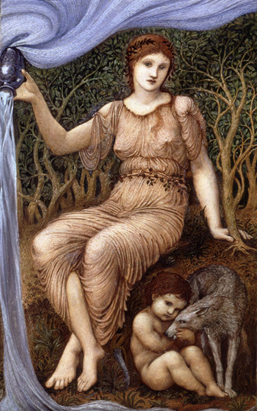 SIR EDWARD COLEY BURNE-JONES, Earth Mother