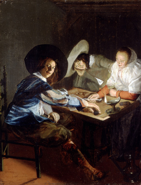 JUDITH LEYSTER, A Game of Tric-Trac