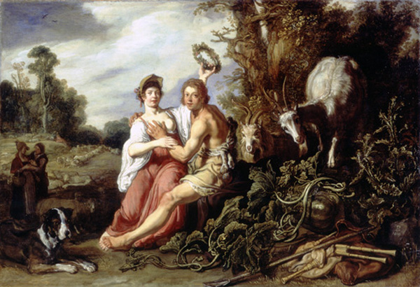 PIETER LASTMAN, Paris and Oenone