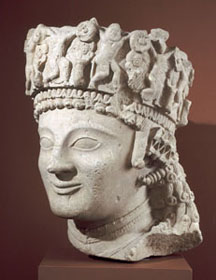 Head of a Female Votive Figure