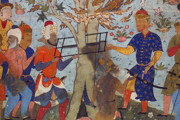 The Prophet Zakariya in the Tree,