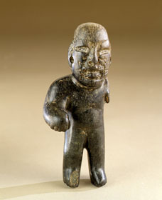 Precolumbian Standing Male Figure