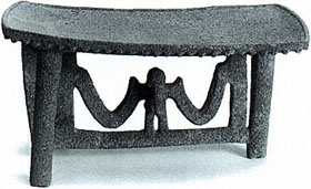 Precolumbian Flying-Panel Metate