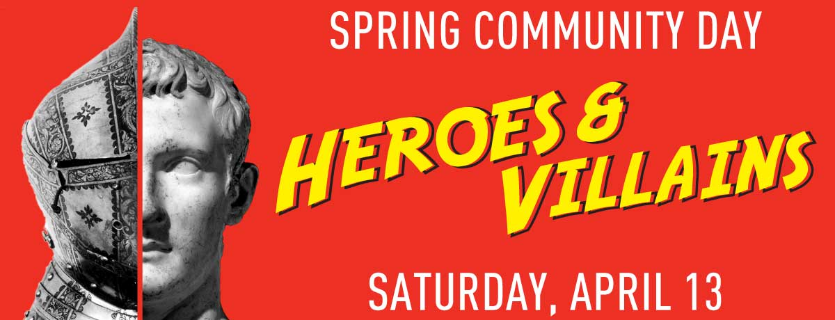 Heroes and Villains Community Day 2019 logo