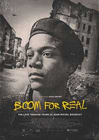 """Boom for Real"" film poster"