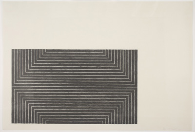 Worcester art museum minimalism logic structure in the for Minimal art frank stella