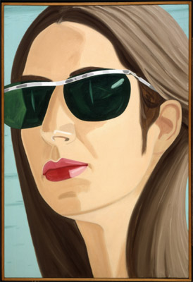 Alex Katz, Ada with Sunglasses, 1969, oil on canvas, Gift of Sidney and Rosalie Rose, 1983.62