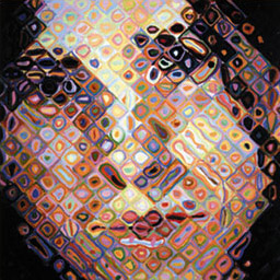 chuck close, maggie
