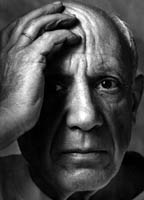 Arnold Newman: Portrait of Picasso