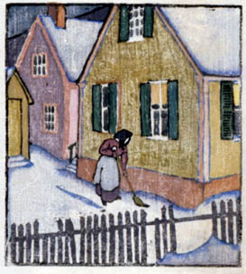 Maud Hunt Squire, Sweeping the Snow
