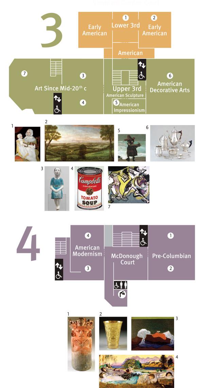 Worcester Art Museum Floor Map