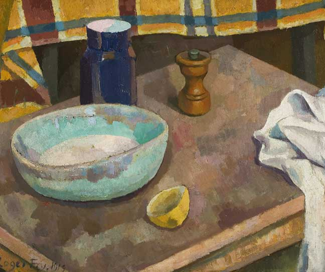 Roger Fry, 'The Blure Bowl', 1919, oil on composition board