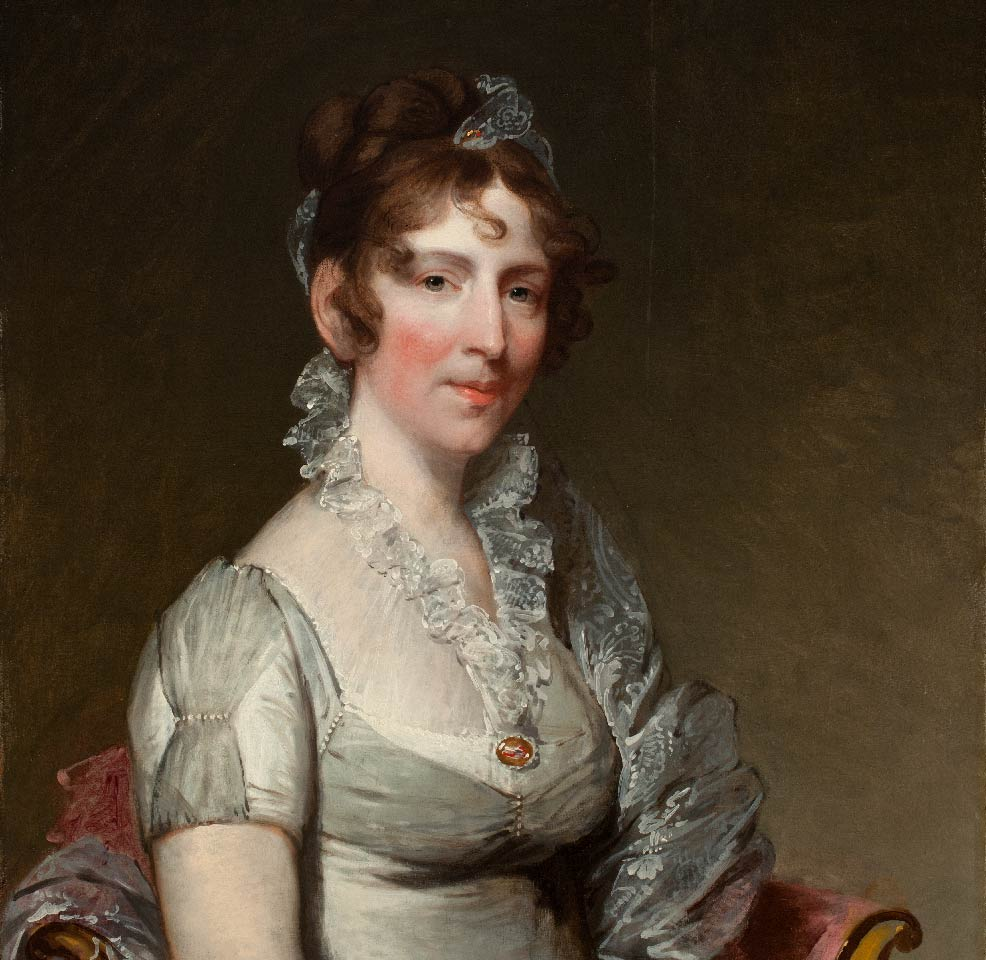 Gilbert Stuart, Elizabeth Tuckerman Salisbury, 1810-1811, oil on panel