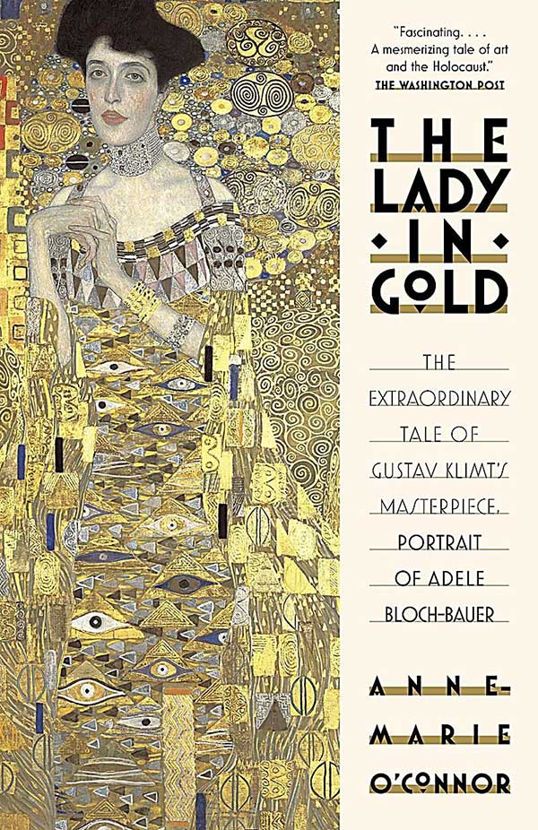 """The Lady in Gold"" book cover"