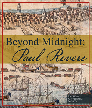 "The cover of ""Beyond Midnight: Paul Revere"" exhibition catalog"