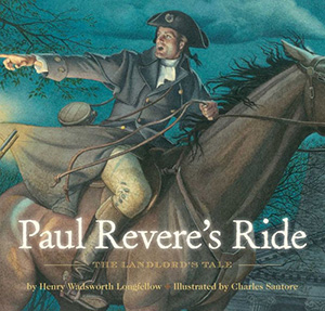 "The cover of ""Paul Revere's Ride: The Landlord's Tale"" by Henry Wadsworth Longfellow"
