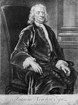 Faber jr after john vanderbank sir isaac newton 1725 mezzotint