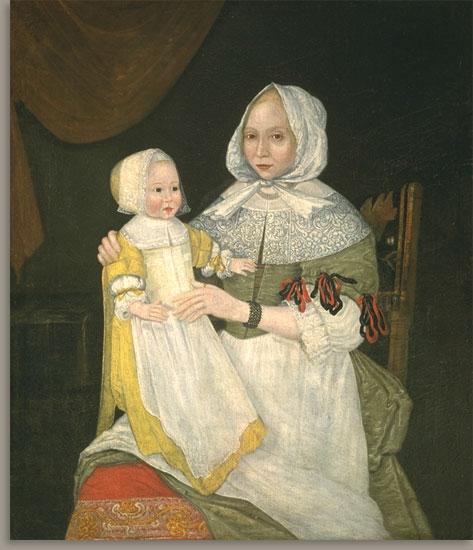 Elizabeth Freake and Baby Mary