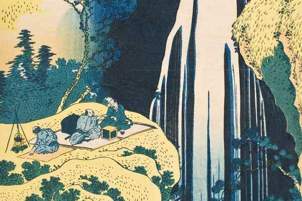 Pilgrimage To Hokusai S Waterfalls Worcester Art Museum