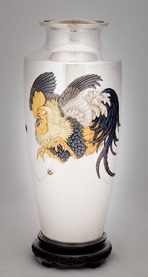HIRAYAMA Kantei, Vase, 1900-1916
