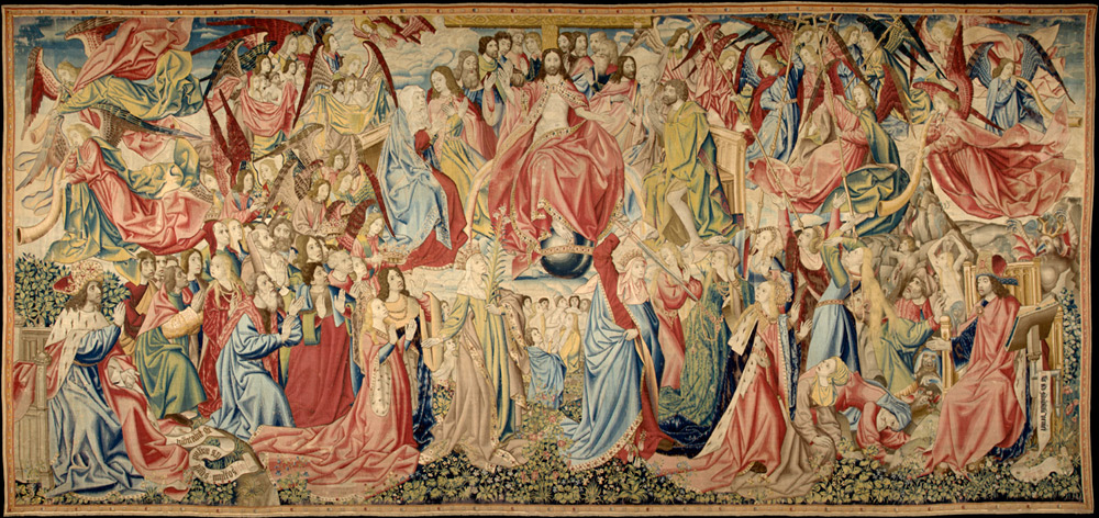 The Last Judgment Tapestry, Flemish, about 1505