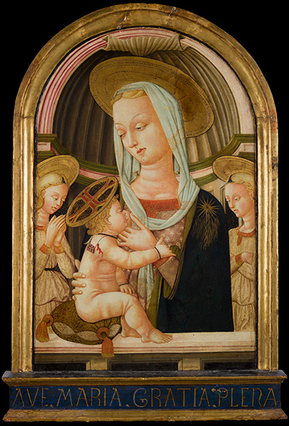 Neri di Bicci, Madonna with Child, 1400s, oil on panel