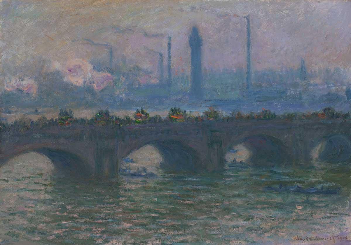 Monet's Waterloo Bridge: Vision and Process | Worcester Art