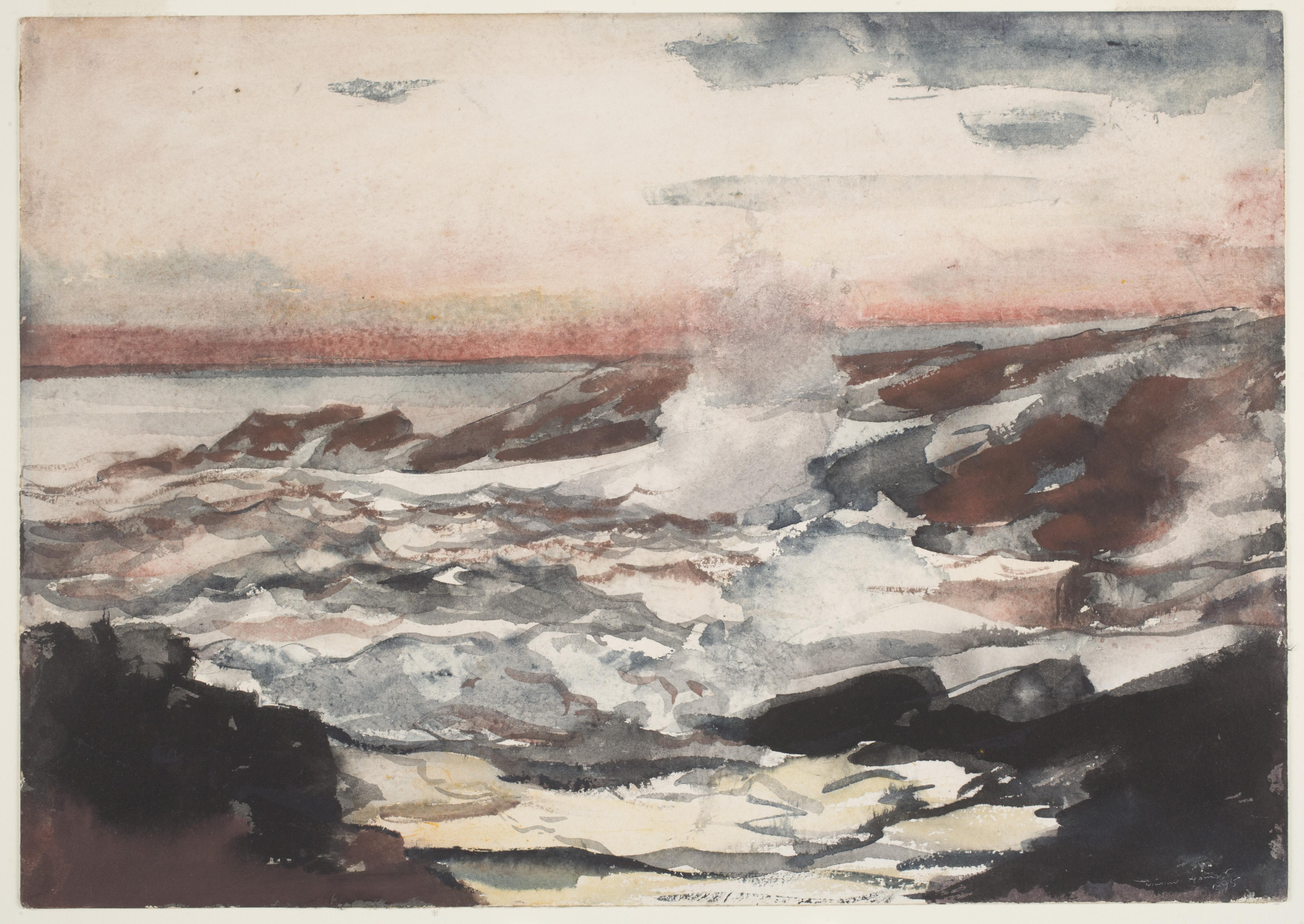Coming Away Winslow Homer And England Worcester Art Museum